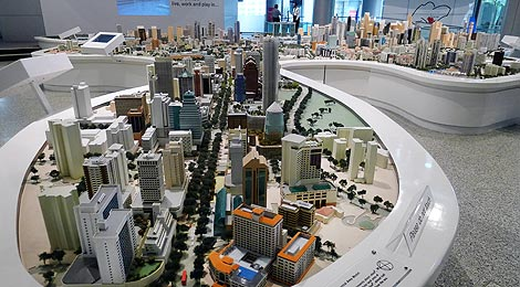 Central Area Model
