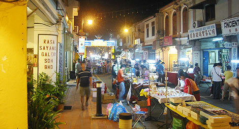 Jonker Walk at night