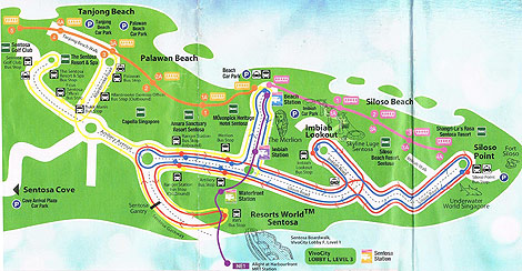 singapore tourist map guide pdf