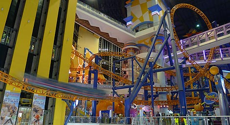 indoor roller coaster