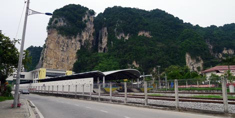 Batu Caves KTM train station