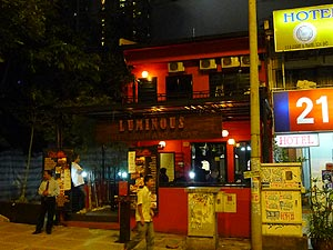 Luminous Restaurant & Bar, Kebab restaurant and bar on Changkat Bukit Bintang