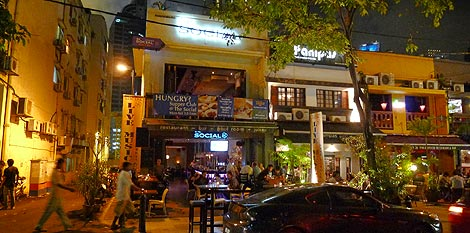 location of The Social on Changkat Bukit Bintang