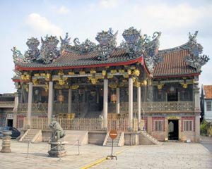 Khoo Kongsi, The most impressive of Penangs many kongsis. A kongsi is a clan house that is partly temple, partly meeting hall