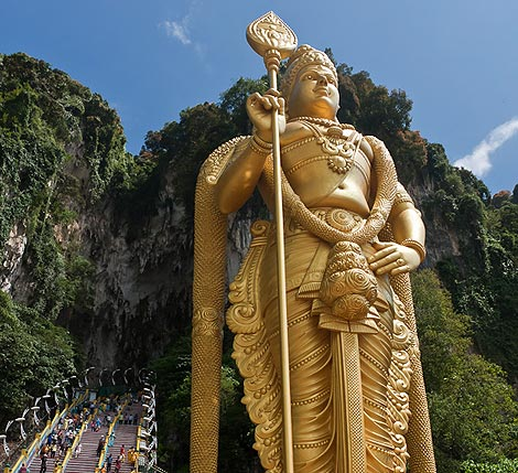 Lord Murugan statue, Batu Caves