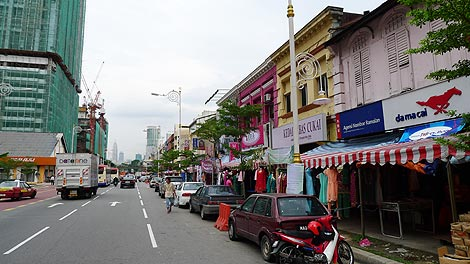 Jalan Tun Sambanthan, Little India Brickfields
