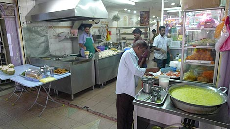 Mamak restaurant, Little India Brickfields