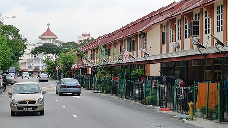 residential area, Little India Brickfields