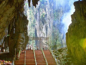 Batu Caves,  inside the main cave