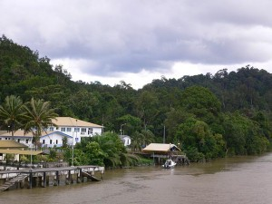Brunei,  River Tour