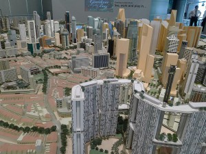 Singapore City Gallery,  Central Area Model