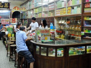 Chinese Culture,  Traditional Chinese Herbal Medicin Shop