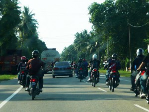 {Along the East Coast,  group Of motorbikes