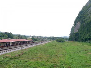 Jungle Train,  Gua Musang train station