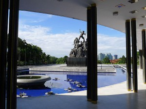Tugu Negara (National Monument),  the gallery at the second monument