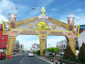 Kota Bharu,  ne of few gates around the town