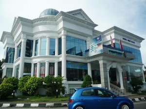 Kota Bharu,  show-off asian baroque architecture