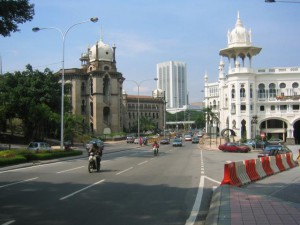 Kuala Lumpur,  KTM Building and Old Railway Station