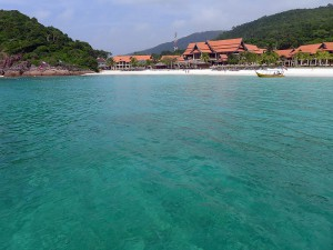 Pulau Redang,  view towards Laguna Redang Resort