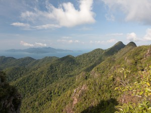 Langkawi,  view from Gunung Mat Cincang