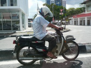 Motorbikes,  Red Light offers time to read
