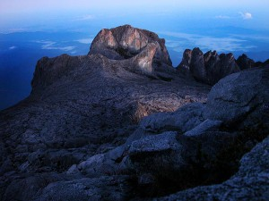 Mount Kinabalu National Park,  at the summit