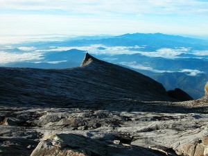 Mount Kinabalu National Park,  lower peak (south peak)