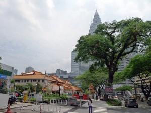 Po Ling Temple, KL,  next to Twin Towers