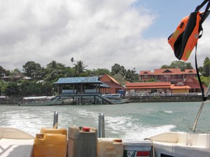 Pulau Kapas,  jetty at the mainland in Marang
