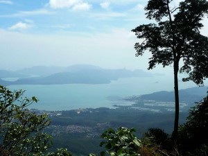{Langkawi,  view from Gunung Raya