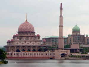 Mosques And Temples,  Putra Mosque, Putrajaya