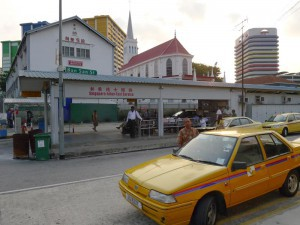 Queen Street Bus Terminal,  Taxi stand, Singapore - Johor
