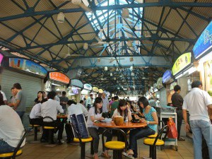 Singapore,  typical Singapore hawker center