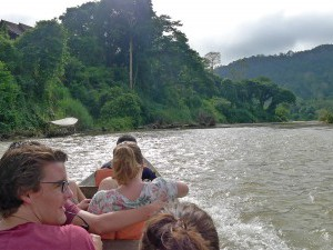 Taman Negara,  long-tail boat trip