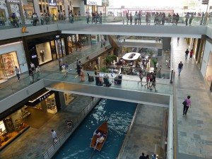 Marina Bay Sands,  boat canal, The Shoppes