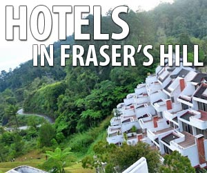 Hotels in Fraser's Hill