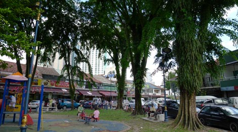 playground at Medan Imbi