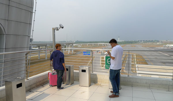 KLIA2 smoking area