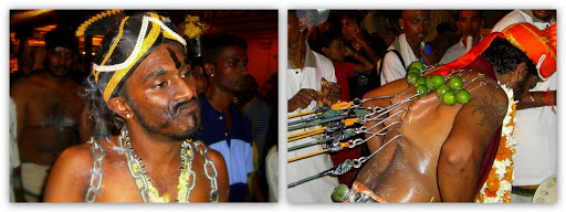 Body Piercing Thaipusam