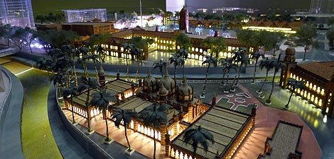 miniature model of Dataran Merdeka