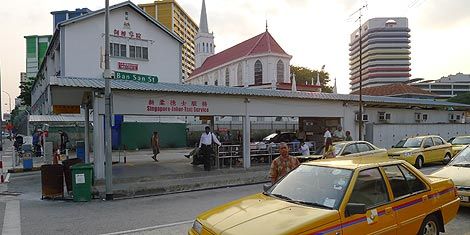 taxi stand for Singapore - Johore taxi service