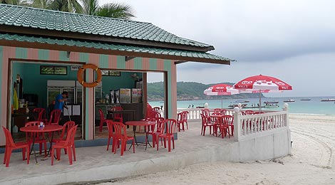 Sand Fly cafe, Redang Bay Resort