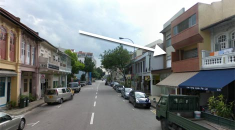 The Mitraa location street view
