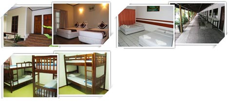 accommodation types, Redang Bay Resort