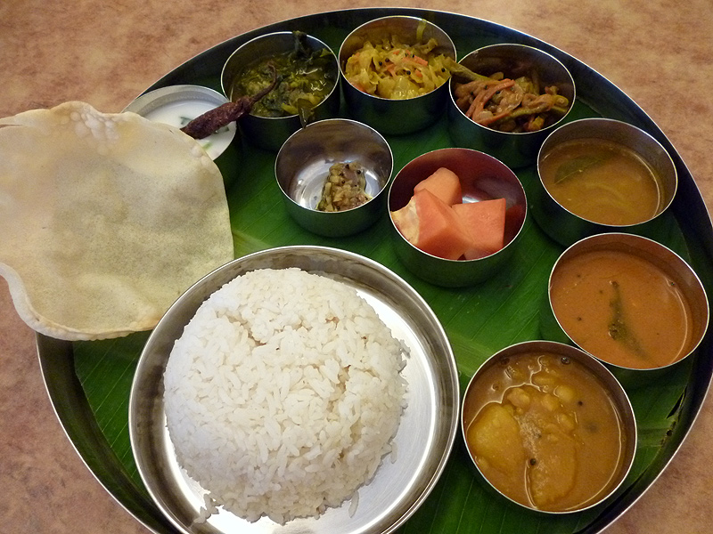 Banana Leaf Rice set