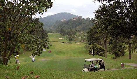 Bukit Tinggi golf course