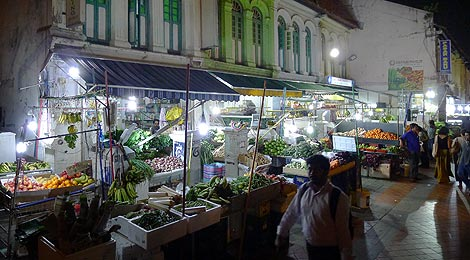 Little India at night