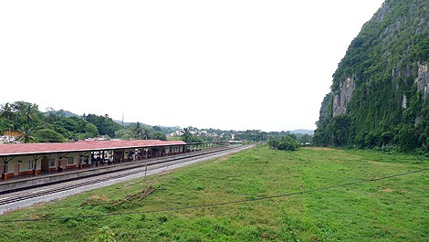 train station in Gua Musang
