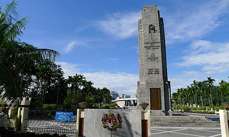 First Monument - the Cenotaph