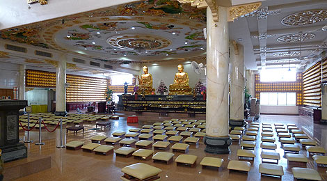 main prayer hall, Po Ling Temple